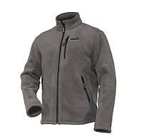 Куртка флисовая с искуственным мехом NORFIN NORTH (серая, 3-й слой) S