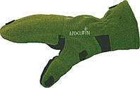 Перчатки-варежки флис. мембранные Norfin CESIUM (безпалые) р.L