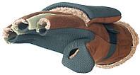 Перчатки-варежки меховые мембранны Norfin AURORA (искуст.мех / неопрен / искуст.кожа) р.L