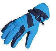 Перчатки мембранны женские Norfin Women WINDSTOP BLUE (флис / утеплитель / PL) р.L