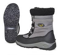 Ботинки зимние Norfin SNOW GRAY (комбиниро., искуств.мех, серые) -20 ° / р.40
