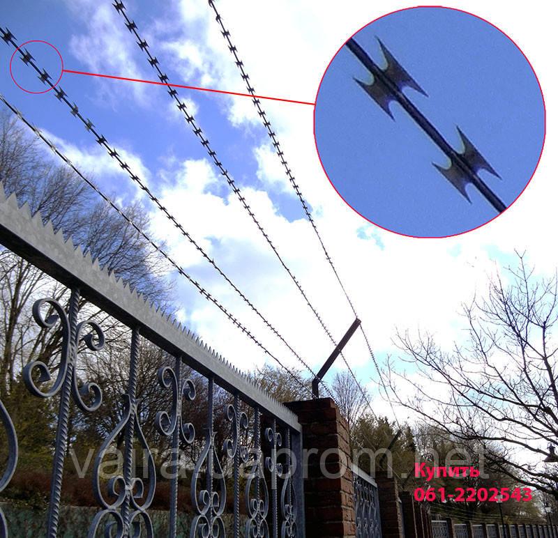 Армированная колючая лента (АКЛ) ТМ Алебарда 3,2/2,2  мм - Вайра в Запорожье