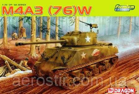 Sherman M4A3 [76]w 1/35 DRAGON 6325