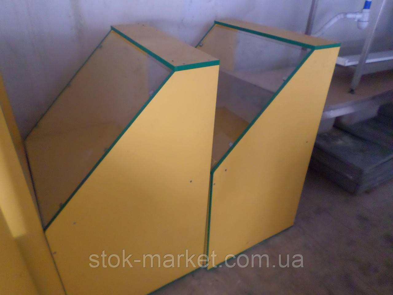 Витрина прилавок ДСП Тумба витрина для выставки товаров торговая витрина ДСП.