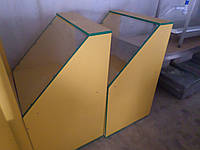 Витрина прилавок ДСП Тумба витрина для выставки товаров торговая витрина ДСП., фото 1