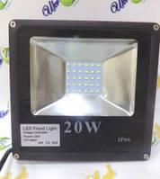 Прожектор светодиодный матричный 20WSlim(Eko)