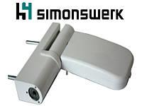 Петля Simonswerk Siku 3035 (120 кг.), размер 15-19, белая.