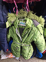Детское пальто на зиму KIKQ