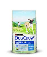 Large Breed с индейкой для крупных пород собак (Дог Чау) Dog Chow (14 кг)