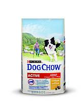 Active с курицей для активных собак (Дог Чау) Dog Chow (14 кг)