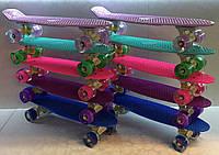 Пенни борд, скейтборд, Penny BS со светящимися колесами, фото 1