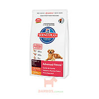 Science Plan Advanced Fitness Large Breed с курицей для собак (Хиллз) Hills Pet Nutrition (12 кг)