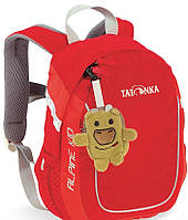 Красивый детский походный рюкзак 5 л Alpine Kid Tatonka красный
