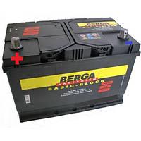 Аккумулятор автомобильный Berga 6СТ-95 Аз Basic Block (595405083)