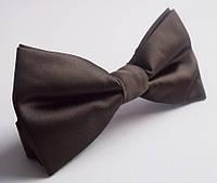 Коричневая бабочка галстук Roberto Cassini