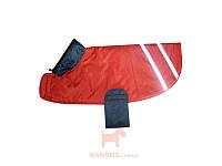 Накидка с потайным капюшоном (пекинес, пудель, миттельшнауцер) А:45 см В:30 см Collar (розовый)