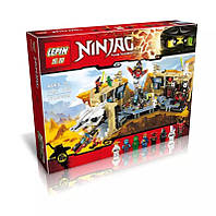 Конструктор Ninjago хаос в пещере самураев аналог Lego Ninjago 70596