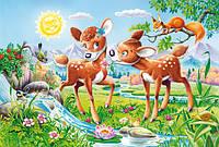 Пазлы Бэмби, 40 maxi, Castorland В-040094