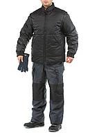 Куртка-трансформер & Пилот& , цв.черный