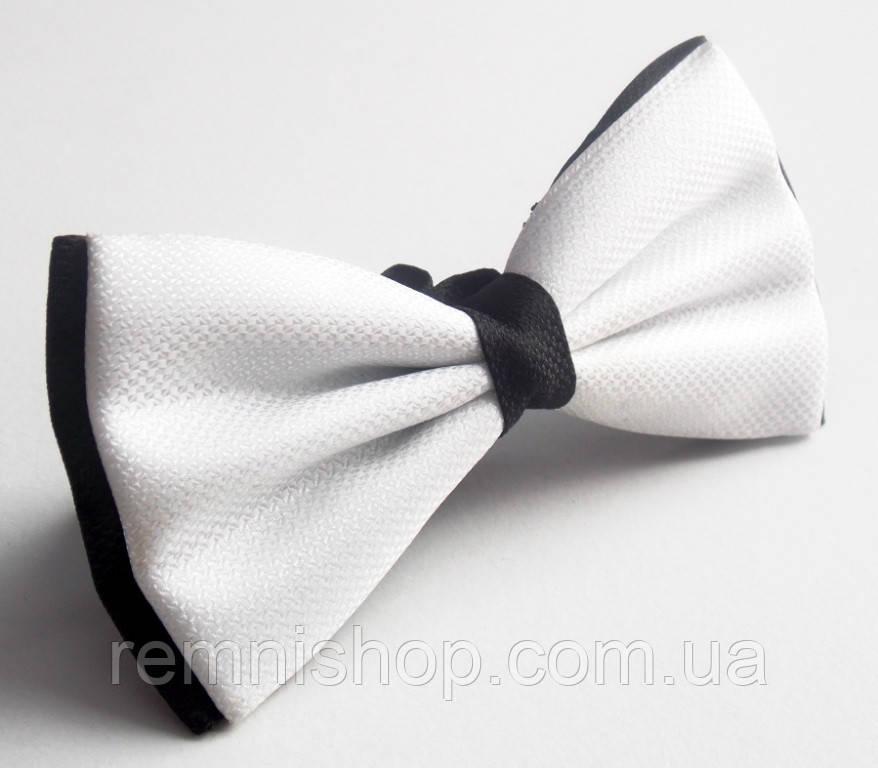 Бабочка галстук Roberto Cassini белая