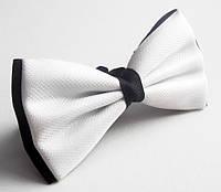 Бабочка галстук Roberto Cassini белая, фото 1