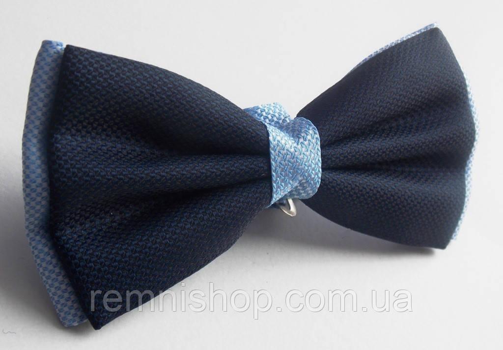 Бабочка галстук Roberto Cassini сине-голубая