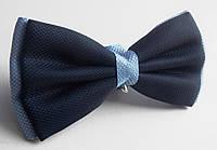 Бабочка галстук Roberto Cassini сине-голубая, фото 1