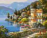 Картины по номерам 40×50 см. Цветущее побережье Художник Сунг Ким