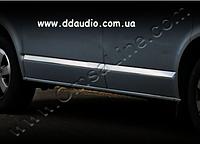 Молдинги дверные (нерж) - Volkswagen T5 Multivan (2003-2010)