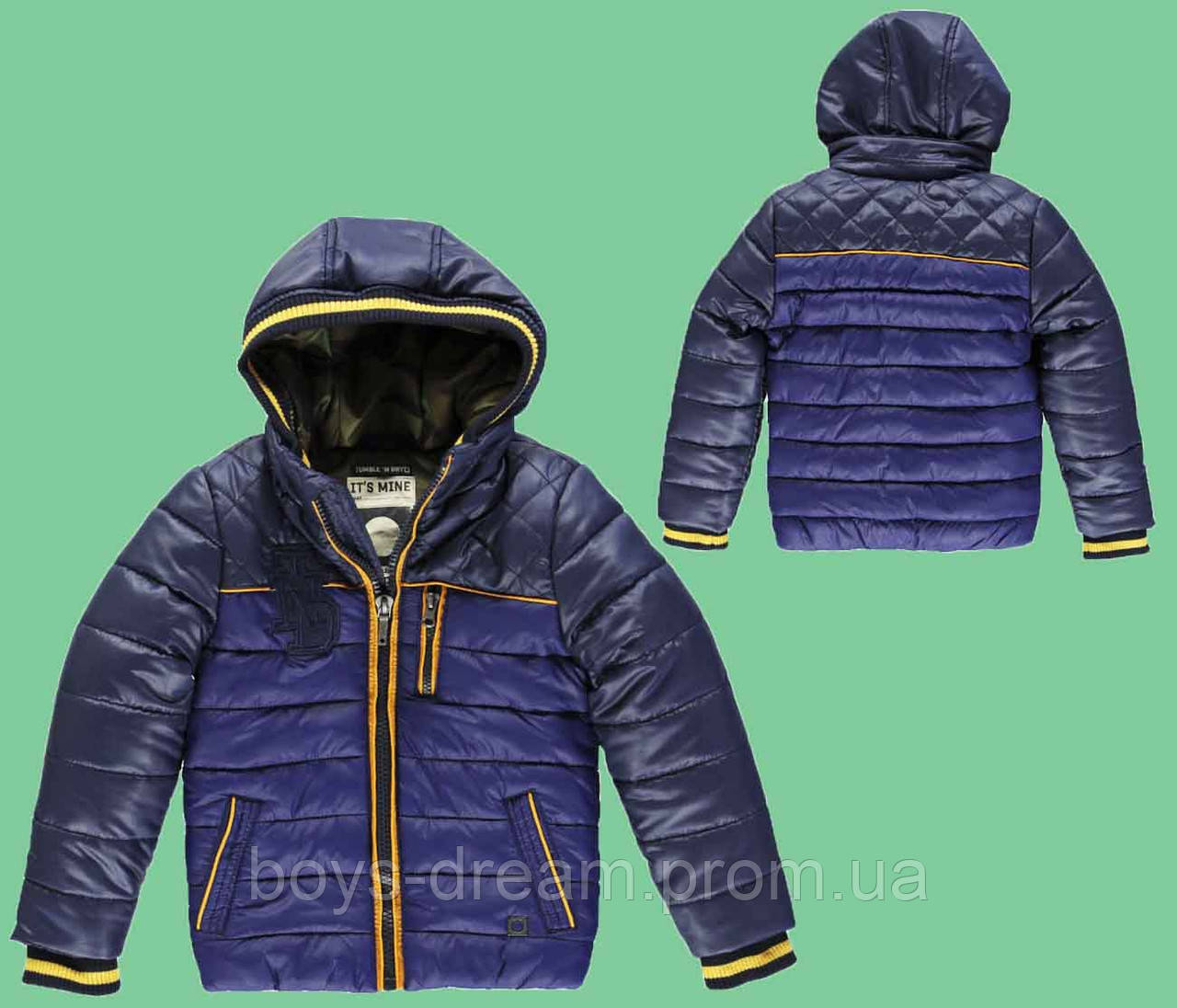 Зимняя куртка на мальчика 2-10 лет ( 98-140 ) Tumble'n Dry.