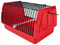 Переноска для птиц красная Trixie (22x15x14 см)