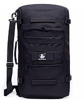 Походная дорожная сумка-рюкзак в военном стиле 50L
