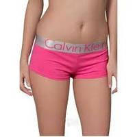 Женские трусики-шорты Calvin Klein steel, розовые