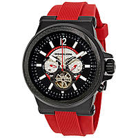 Часы мужские Michael Kors Dylan Oversize Red Silicone Automatic MK9020