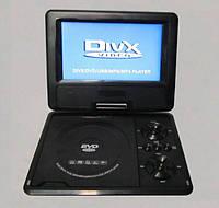 DVD проигрыватель с ТВ тюнером 789, ФМ радио, игры, поворот экрана, встроенный аккумулятор, пульт ДУ