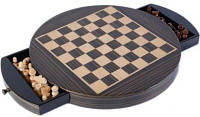 Настольная игра шахматы магнитные в деревянной коробке Duke CS71L-12