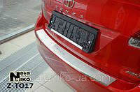 Накладка на задний бампер с загибом Toyota Venza FL