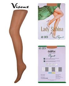Колготки Lady Sabina 40 den Elegant Visone р.2 (LS40El) | 5 шт.