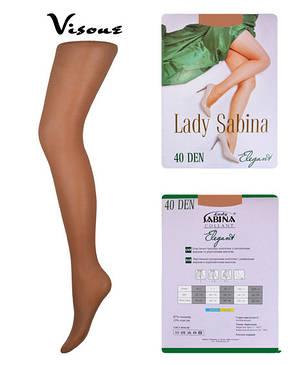 Колготки Lady Sabina 40 den Elegant Visone р.2 (LS40El)   5 шт., фото 2