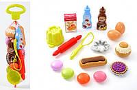 """Набор продуктов Ecoiffier """"Вкусный десерт"""" в сетке, 16 акес. (000952)"""