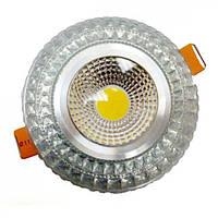 Светодиодный светильник LEDEX STANDART, 6W RGB silver