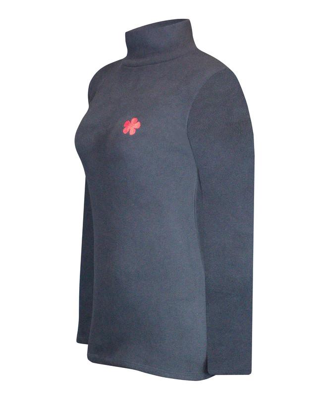 Термобелье теплая водолазка женская со стойкой - фото teens.ua