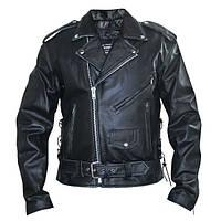 Куртка кожаная косуха Shengyi