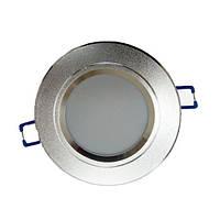 Светодиодный светильник LEDEX STANDART, 3W (круг)