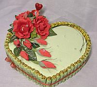 """Сердце из конфет для влюбленных""""Признание"""""""