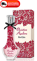 Женская парфюмированная вода CHRISTINA AGUILERA RED SIN EDP 75 ML