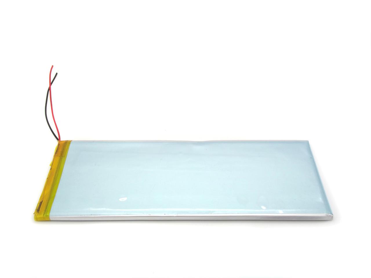 Аккумулятор для планшета 3100 мАч 3,7в длинный - 3100mAh 3.7v размер 3.3*45*145 мм 3345145