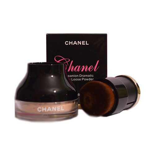 "Рассыпчатая пудра Chanel ""Companion Dramatic Honey Loose Powder"" 10 g + КИСТЬ! 6147"
