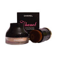 "Рассыпчатая пудра Chanel ""Companion Dramatic Honey Loose Powder"" 10 g + КИСТЬ! 6147, фото 1"