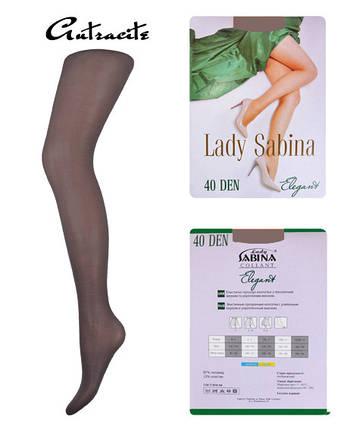 Колготки Lady Sabina 40 den Elegant Antracite р.4 (LS40El) | 5 шт., фото 2